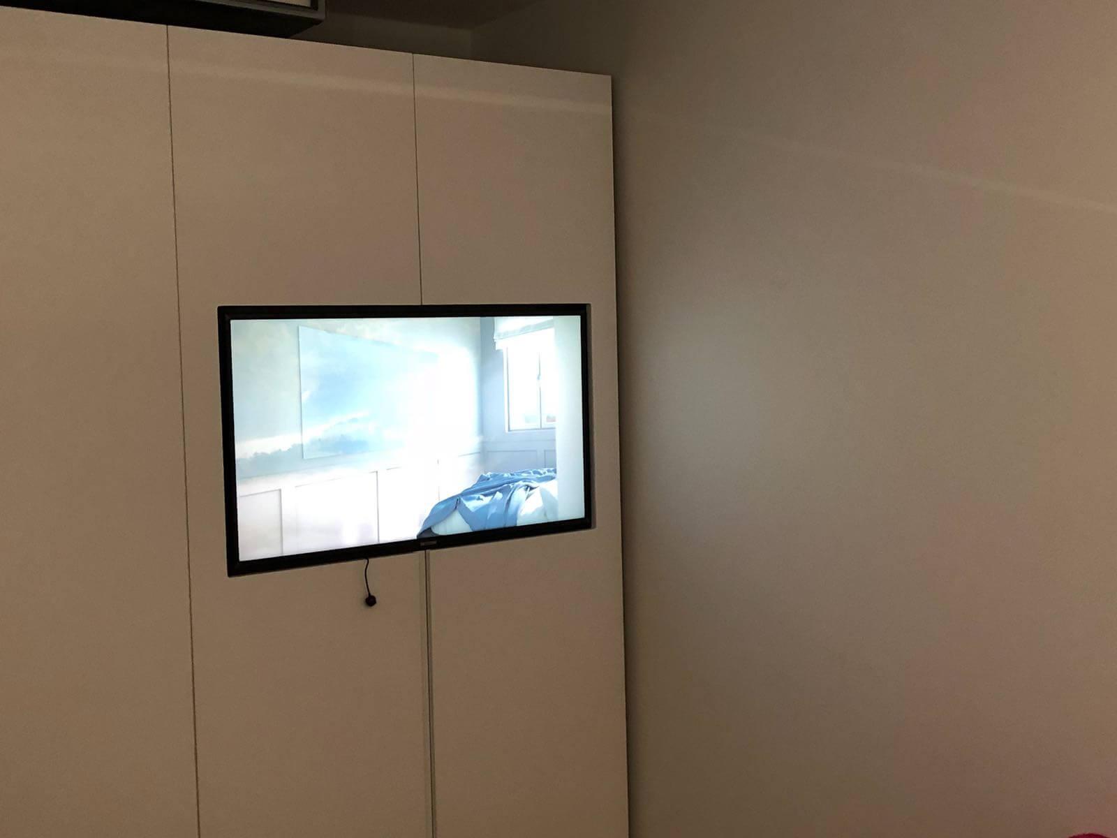 תמונת גלריה הגדול בהתקנות מתקין טלוויזיות מקצועי עם יחס אישי 30